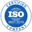 CERTIFIED COMPANY ISO 9001:2015